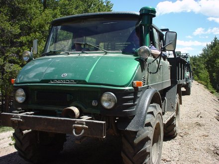 Dana Stickley's 416 Unimog