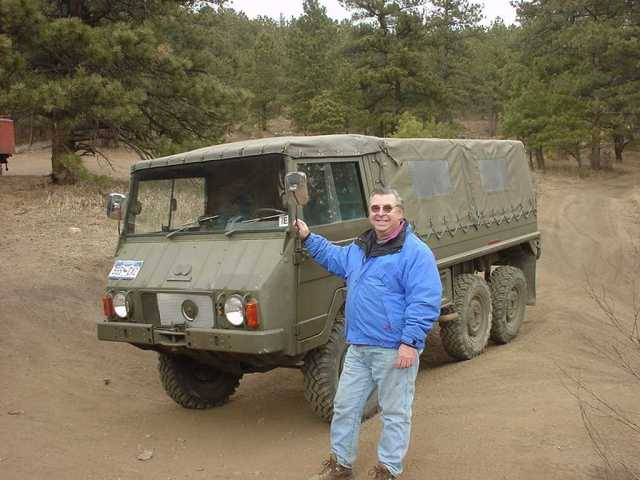 Frank Smith's 712M Pinzgauer
