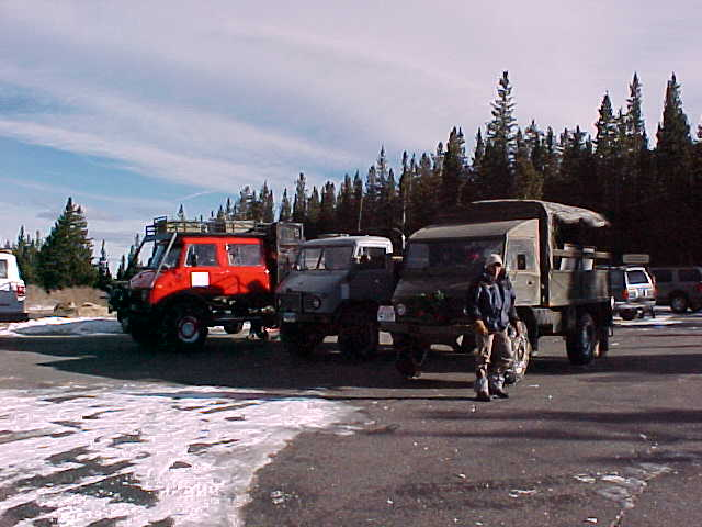 The Mog lineup at Echo Lake