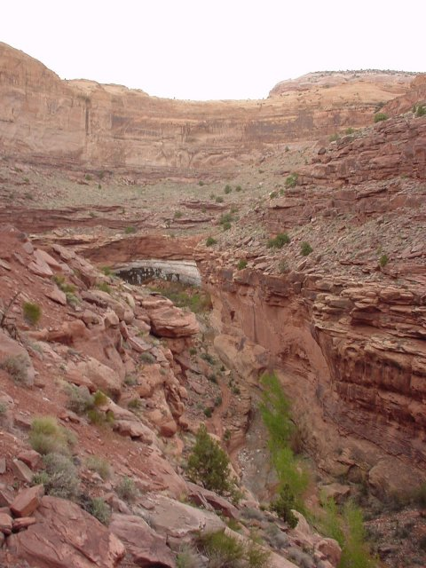 The upper canyon.