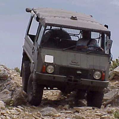 Mike and Donna's Pinzgauer